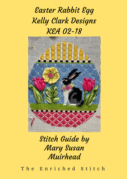 Easter Rabbit Egg Stitch Guide KEA 02-18