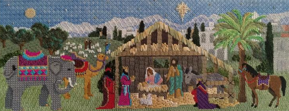 Nativity Stable Stitch Guide