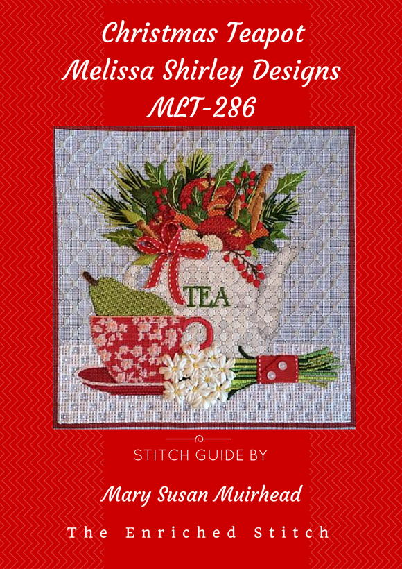 Christmas Teapots Stitch Guide