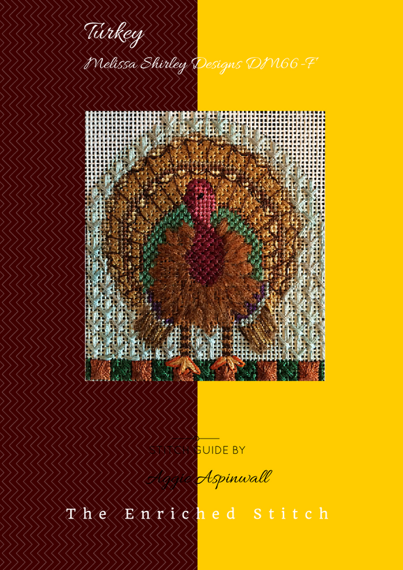 Thanksgiving Turkey Stitch Guide
