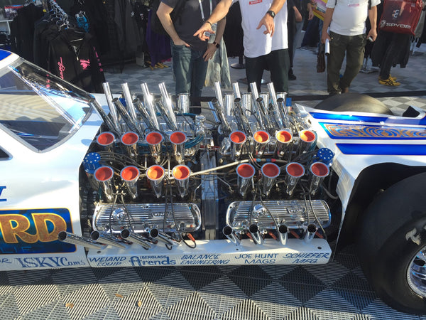 Massive Engine Drag car at SEMA Las Vegas 2015