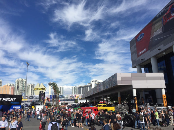 Overview of SEMA, Las Vegas, 2015