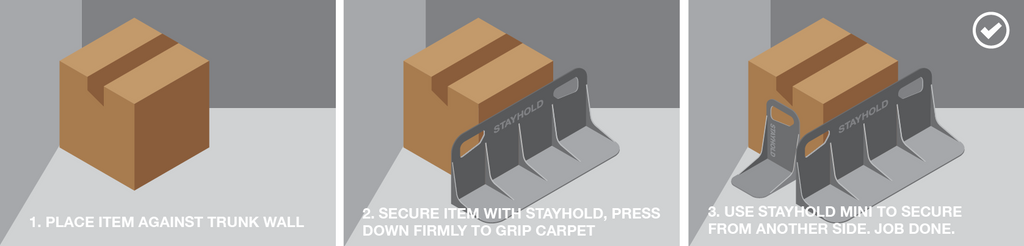 Stayhold instructions illustration