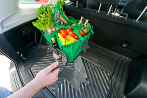 Stayhold Sidekick Shopping Holder Pack - for rubber liners in trunk being positioned