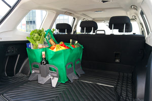 Stayhold Sidekick Shopping Holder Pack - for rubber liners in trunk holding shopping with wine