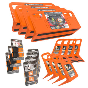 Stayhold shopping holders Utopia pack orange (orange)