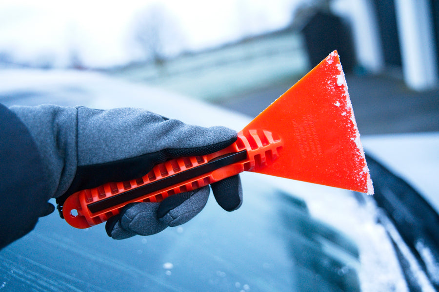 Stayhold ICE SCRAPER+SQUEEGEE