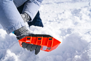 Stayhold Compact Safety Shovel - Mini shovelling snow