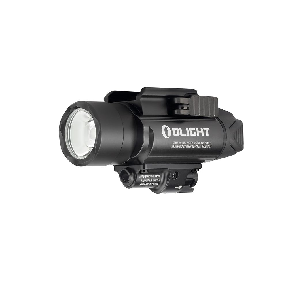 Olight BALDR PRO 1350 Lumen Rail Mount Light with Green Laser