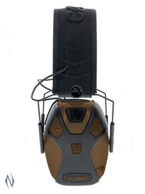 CALDWELL EMAX PRO ELECTRONIC EAR MUFFS FDE