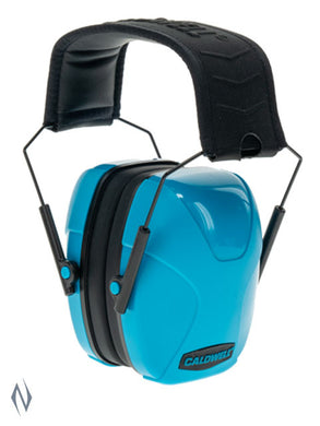 CALDWELL YOUTH PASSIVE EAR MUFFS NEON BLUE