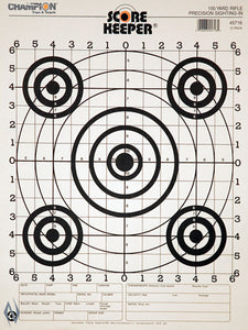 CHAMPION TARGET 100YD RIFLE SIGHT IN B/B 12 PACK