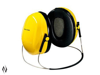 PELTOR SHOTGUN H9B BEHIND HEAD YELLOW EARMUFFS