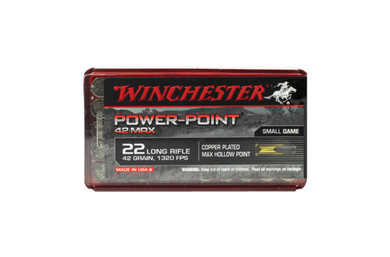 Winchester Powerpoint Max 22LR 42gr HP