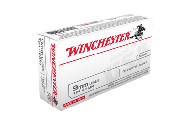 Winchester 9mm USA Value Pack 124gr FMJ