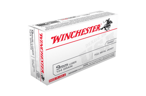 Winchester USA Value Pack 124gr FMJ