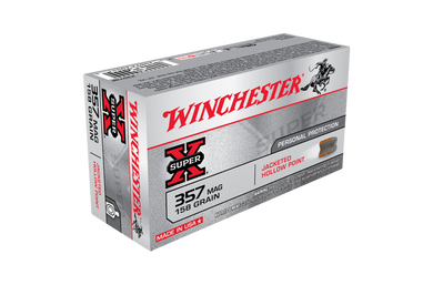 Winchester Super X 357 Mag 158gr JHP