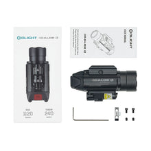 Load image into Gallery viewer, Olight BALDR RL 1120 lumens pistol light with red laser