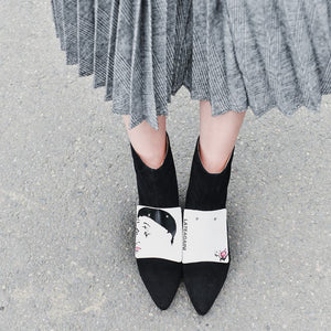 Kiki Unique Ankle Boots
