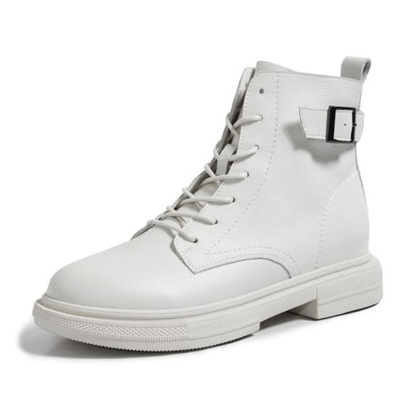 Macao Back Strap Combat Boots