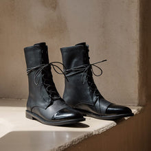 Load image into Gallery viewer, Angelo Combat Boots