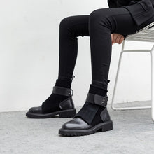 Load image into Gallery viewer, Wade Genuine Leather Strappy Boots