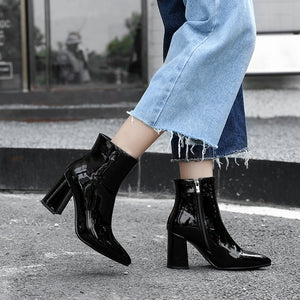 Lya Bright Ankle Booties