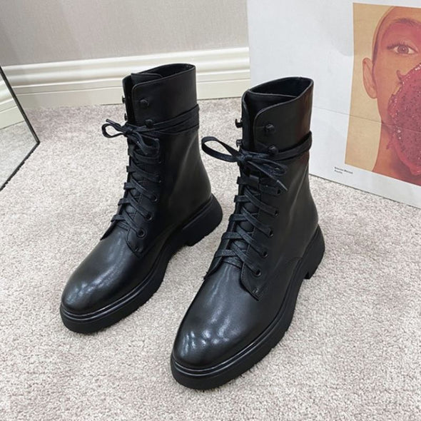 Gianna Combat Boots
