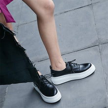 Load image into Gallery viewer, Charlize Genuine Leather Fashion Sneakers