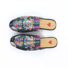 Load image into Gallery viewer, Mariam Embroidered Mules