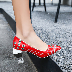 Takako Novelty Heel Pumps