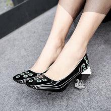 Load image into Gallery viewer, Takako Novelty Heel Pumps