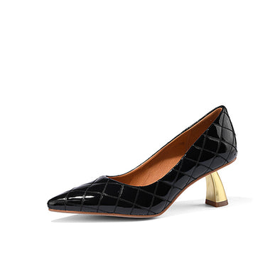 Brandy Novelty Kitten Heels
