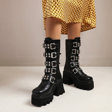 Load image into Gallery viewer, Thor Platform Punk Boots