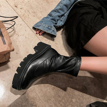Load image into Gallery viewer, Bridget Platform Chelsea Boots