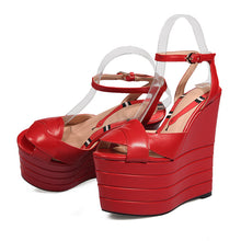 Load image into Gallery viewer, Nahla Wedge Comfort Sandals