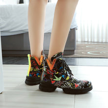 Load image into Gallery viewer, Kane Print Martin Ankle Boots