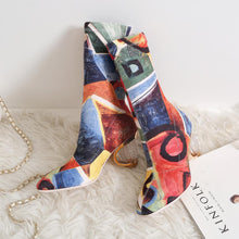 Load image into Gallery viewer, Molly Fashion Print Stretch Boots