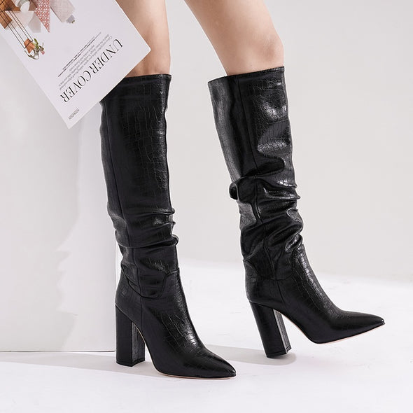 Frazer Slouch Knee High Boots