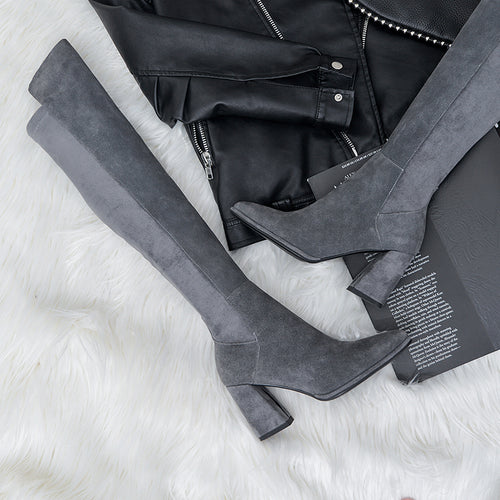 Sutton Handmade Stretch over the Knee Boots