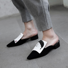 Load image into Gallery viewer, Sassa Handmade Fashion Mules Flats