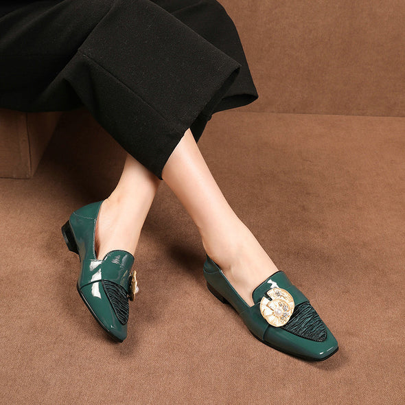 Payzlee Loafers with Pearl