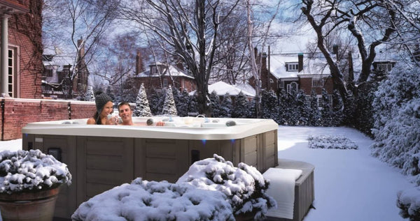 The best time of year for using a hot tub