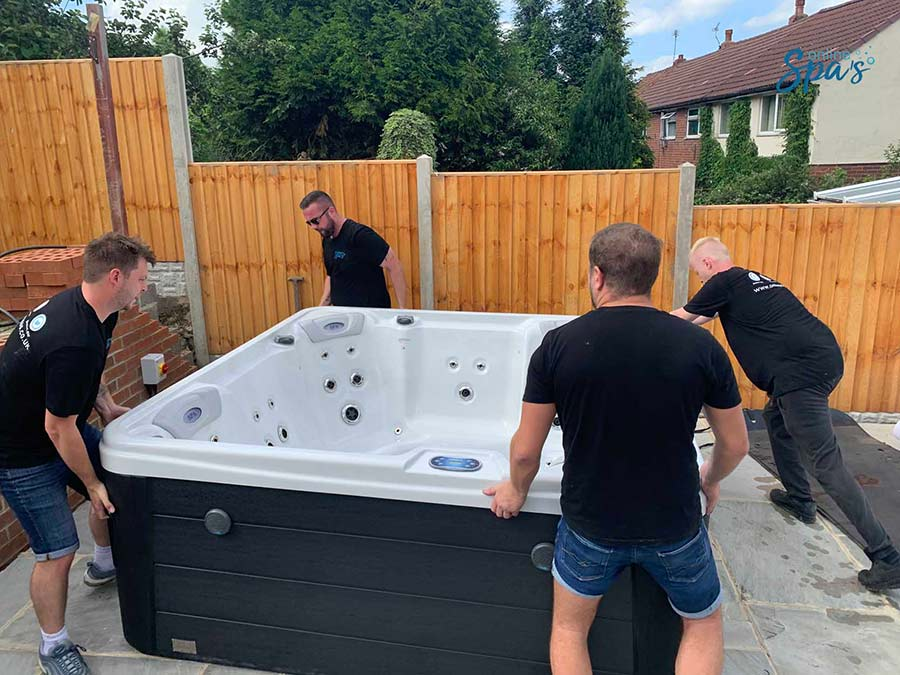 Where To Put Your Hot Tub Hot Tub Installation Online Spas