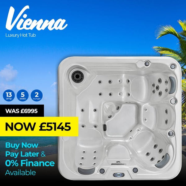 Vienna  5 Seat (2 Lounger) Luxury Hot Tub Spa | Plug & Play Hot Tubs