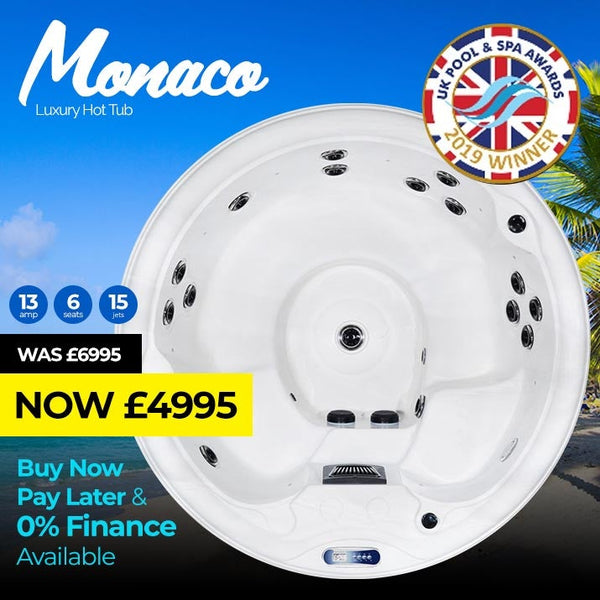 Monaco Luxury  6 Seat Spa | Plug & Play Hot Tubs
