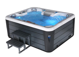 Roma 5 Seat (1 Lounger) Luxury Hot Tub Spa