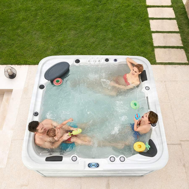 Mont Blanc Super Luxury 6 Seat Spa | Plug & Play Hot Tubs