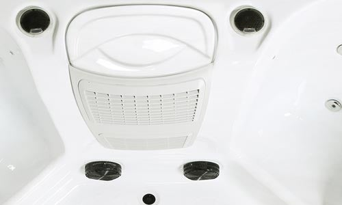 Roma 5 Seat (1 Lounger) Luxury Hot Tub Spa | Plug & Play Hot Tubs