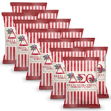 Delta Sigma Theta Chip Bags (Filled) 12 Packs - Adorn Greek Gifts